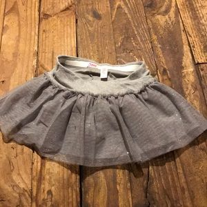 Fun glitter skirt for young girl